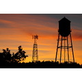 Florida orange grove water tower