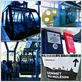 moleson cableway gruyeres switzerland collage