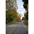 upstate newyork road autumn fall foliage cazenovia street view
