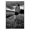 girl woman path sky portrait