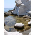 THASSOS ISLAND MACEDONIA GREECE ROCKS SEA