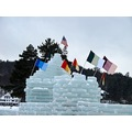 Ice Palace at Saranac Lake, New York