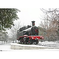 kadikoy istanbul snow winter turkey train loco