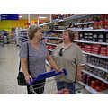sisters tesco shopping
