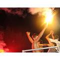 football ukraine belorussia supporters fire