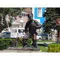 trip russia travel rostovondon rostov don architecture city Monument Sholokhov