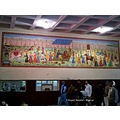 mural kota railway station india rajasthan