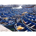 fishing boats in Essauira moroccoi