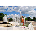 bulgaria pleven photography beautiful view fountains sky girl