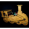 Model Locomotive Wood Electric DIY