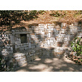 spa park summer stonework bench wall shadows light piedmont piedmontfph