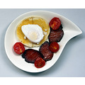 Another day, another breakfast.  Soya sauce cured bacon, poached duck egg on toast and fried ch...