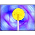 Yellow Lollipop Photo Candy