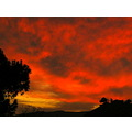sunset Hemet California Dec 4 Pankey Wildspirit Red Angry Sky