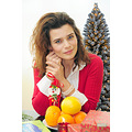 girl woman wife portrait christmass nikon sigma bulgaria