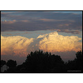 cumulus nimbus clouds sky storm nature