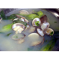 Clam and Mustard Green Soup