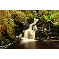 waterfall comeragh mountains nature