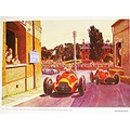 Peter Helck 1951 Grand Prix Europe Painting