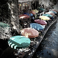 Riverwalk San Antonio Texas umbrellas colgdrew