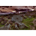 Peak District Derbyshire Millstone Sunset
