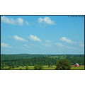 Hartville missouri us usa landscape Ozarks mountain valley barn bh 2008