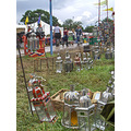 festival festivals glastonbury lamps lantern metal colourful light lights