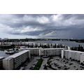 storm aventura florida condos clouds lake view