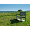 bench st lawrence river