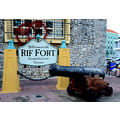 zuiderdam cruise willemstad curacao fort sign cannon photographer
