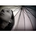 umbrella portrait