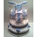 Tricycle Diaper Cake Base