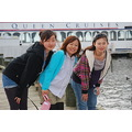 Japan Girls lake steamboat