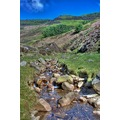 Peak District Derbyshire Kinder Edale Grindsbrook