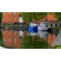 Canal Boats Reflection