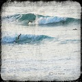 Surfers at Sennen, Cornwall UK Oct 2012
