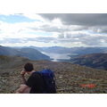 Me, Taking in the view from end of Aonach Eagach ridge,Glencoe
