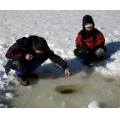 ice fishing BC Canada