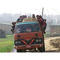 Nepal Bhaktapur Road Travel Walking Truck