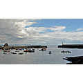 Cornwall Mevagissey Harbour Boat Sail Sea Coast UK Moored