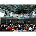 At 7:38pm.Harbourfront-West Jet Stage-Toronto,Ont.,On Saturday,Aug.3,2013