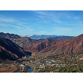 glenwood springs gsfph colorado rockies river aerial view rocky mountains