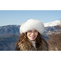 girl woman wife hat portrait winter mountain eyes smile hair nikon bulgaria