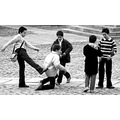 boys portrait blackandwhite games childhood boy children kick friends