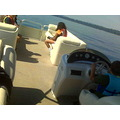 kenster was the best at driving the boat though