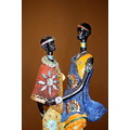 african man woman traditional dresses colours