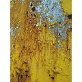 yellow monochrome surface decay