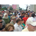 The insane number of people at the Springfield, IL Obama rally