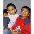 lovely kids yammy n saib