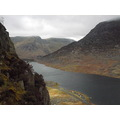 Ogwen Valley from Tryfan. North Wales, UK. April 2008